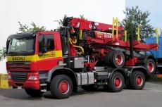 GINAF X3335 S Bächli Holztransporte Würenlingen
